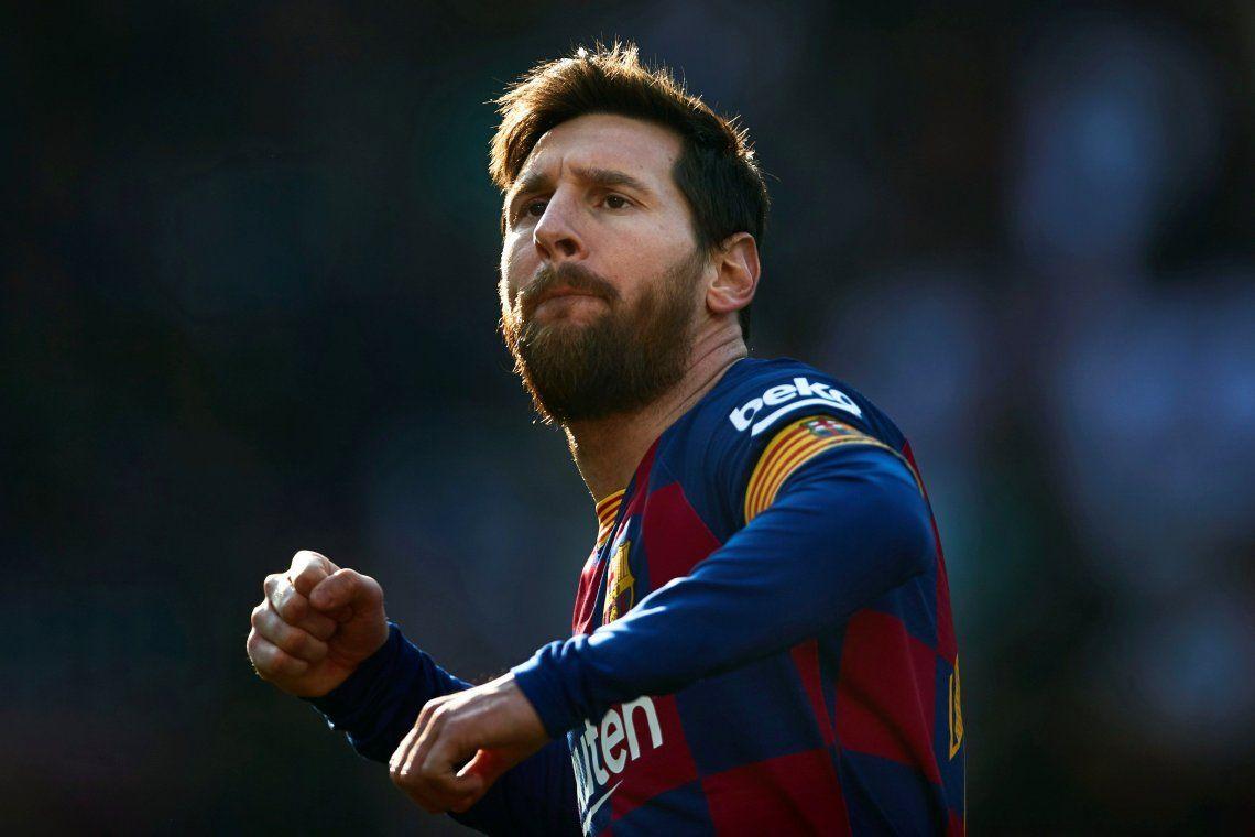 Lionel Messi rompió la mala racha y metió cuatro goles en el triunfo del Barcelona ante el Eibar por la Liga de España