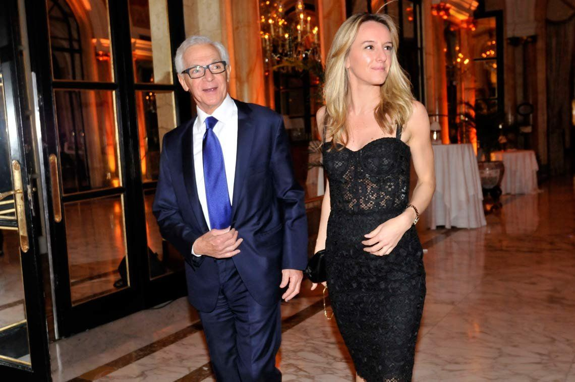 Eduardo Costantini se casó con su novia, 43 años menor