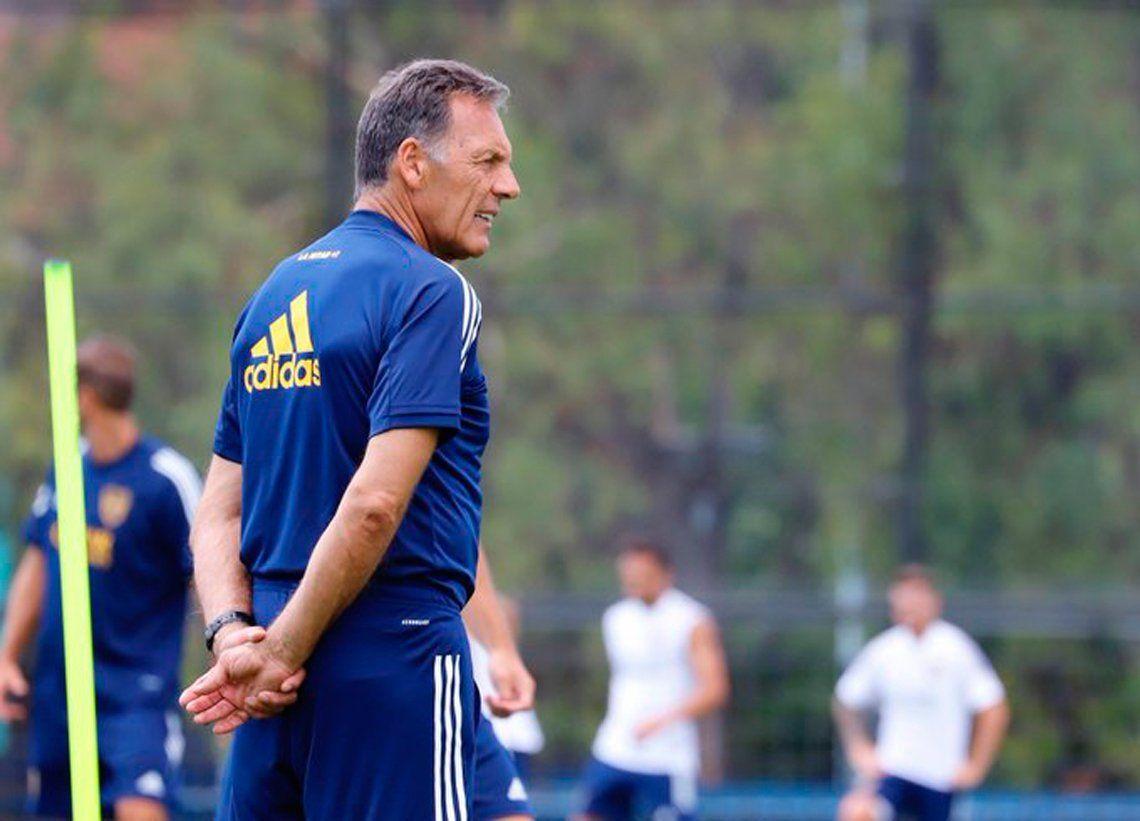 Russo repetiría por primera vez el equipo para enfrentar a Colón