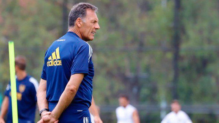 Russo repetiría el equipo para enfrentar a Colón