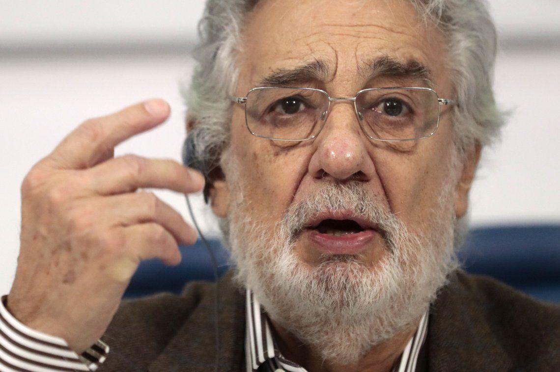 Plácido Domingo pidió perdón a las mujeres que lo acusaron de abuso