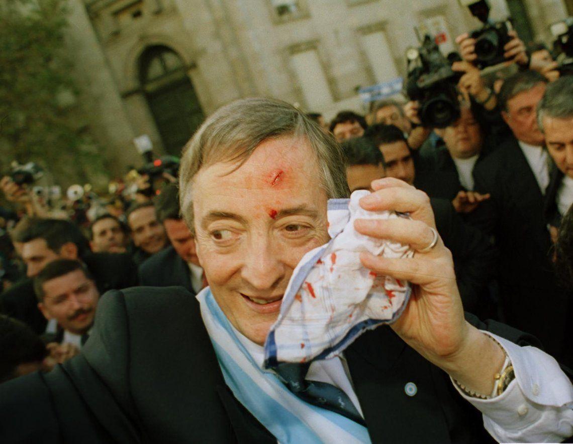 25 de mayo de 2003 - El día de asunción como presidente