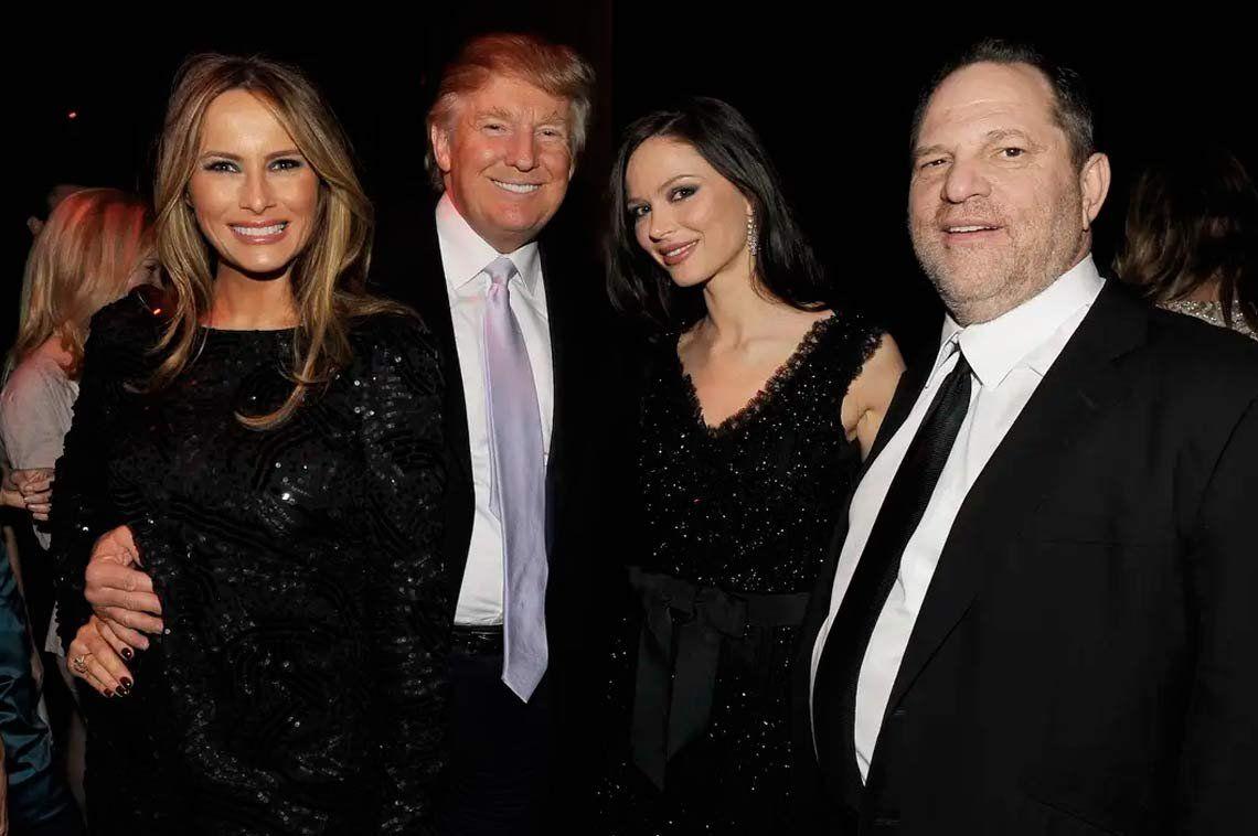 Un cradura: Donald Trump aplaudió la condena a Harvey Weinstein
