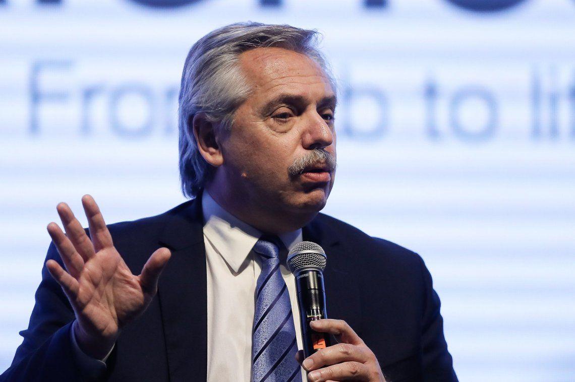 Alberto Fernández aseguró que el país necesita una política sanitaria que llegue a todas y todos