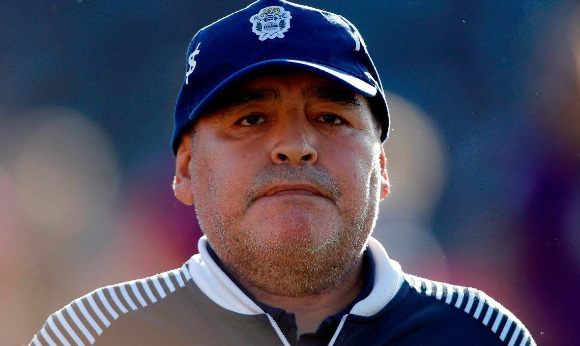 Maradona lamentó la muerte del atleta olímpico Braian Toledo