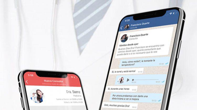 Cómo funciona DoqChat, la nueva app que conecta a médicos con pacientes