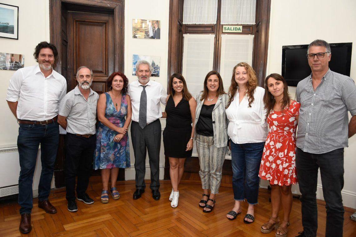 Legisladores del Frente de Todos se reunieron con la presidenta del INADI, Victoria Donda