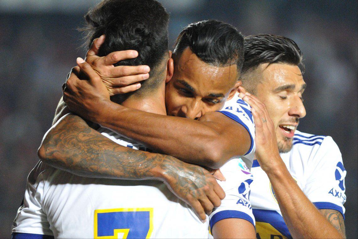 Sin tregua: Boca goleó a Colón, y la presión ahora la tiene River