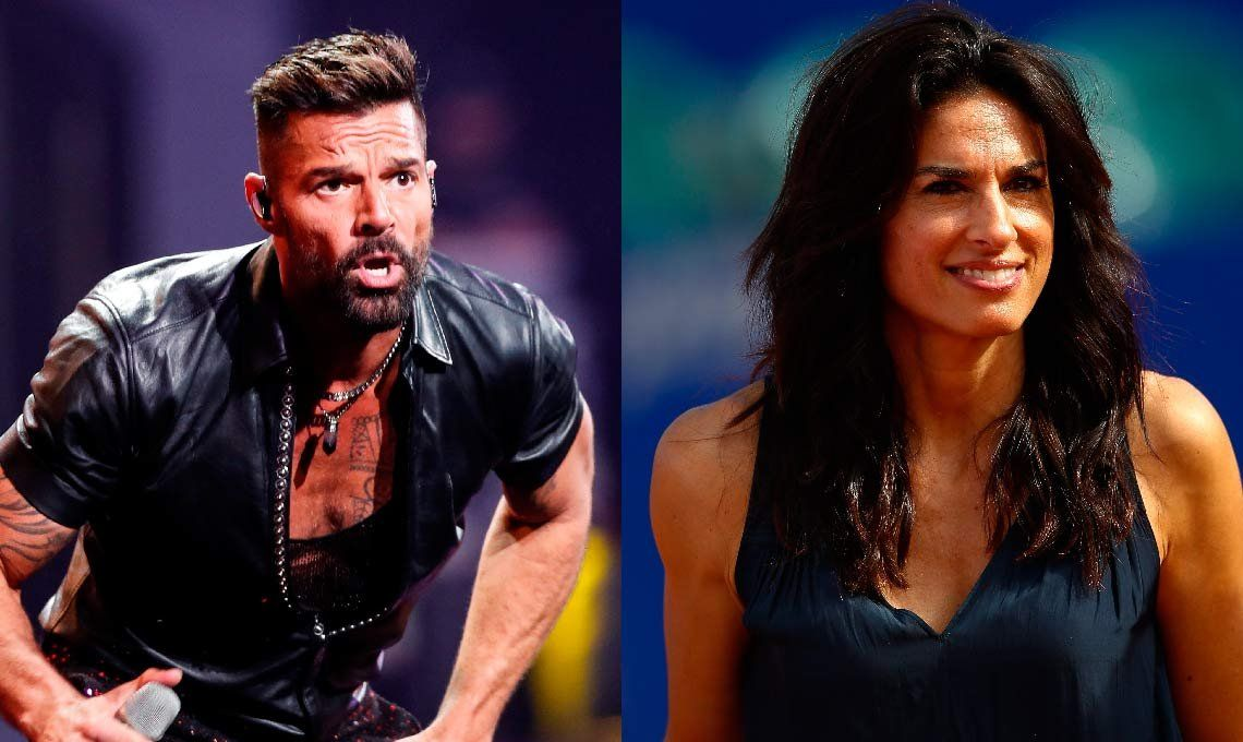 ¿Hubo un touch and go entre Ricky Martin y Gabriela Sabatini?