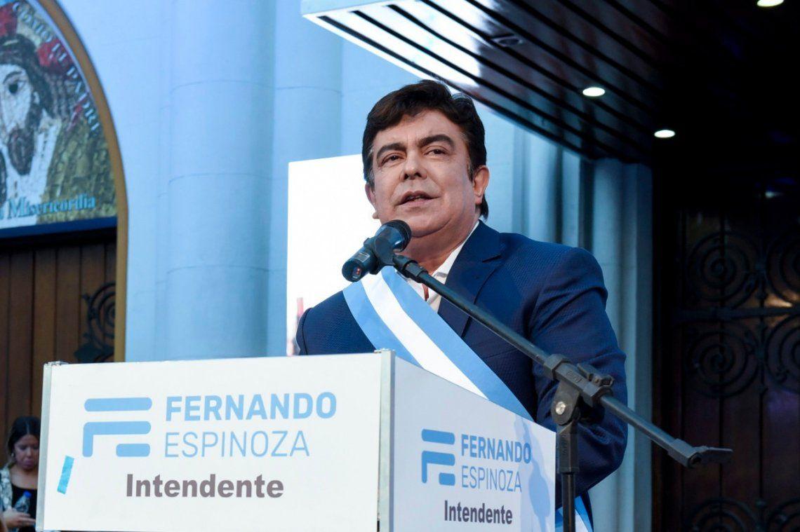 La Matanza: Fernando Espinoza realizará la apertura de sesiones del Concejo Deliberante