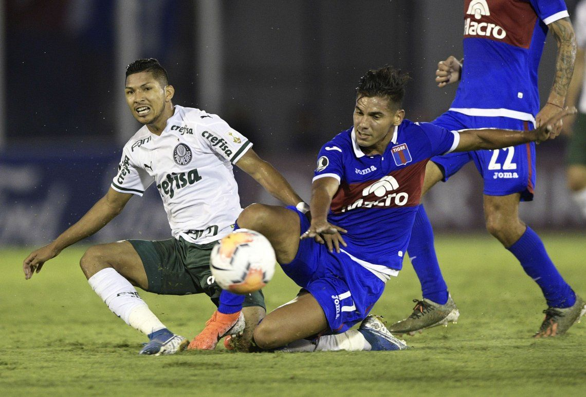 Copa Libertadores: Tigre no pudo con el poderío de Palmeiras y cayó 2 a 0