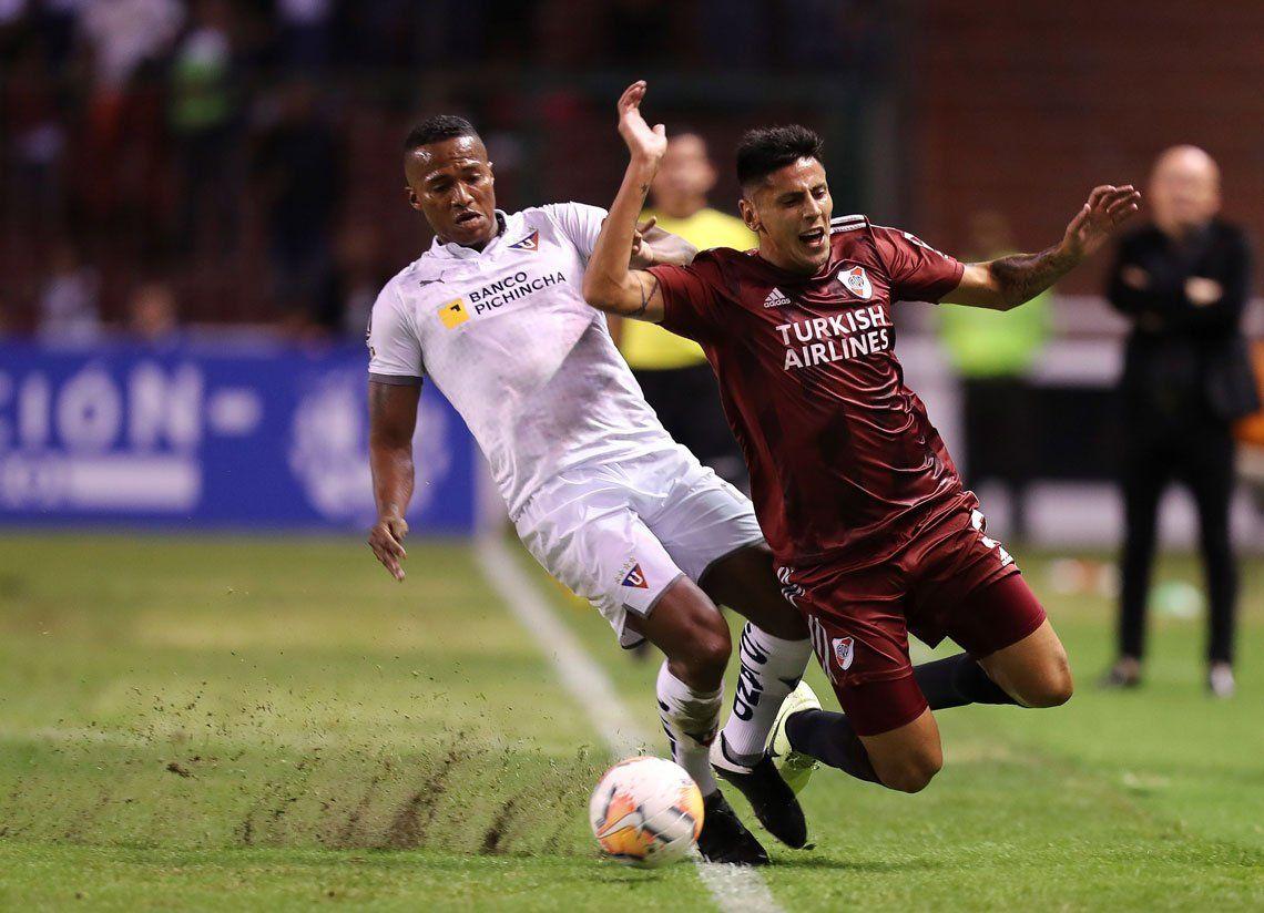 La dura derrota de River ante Liga de Quito, en fotos