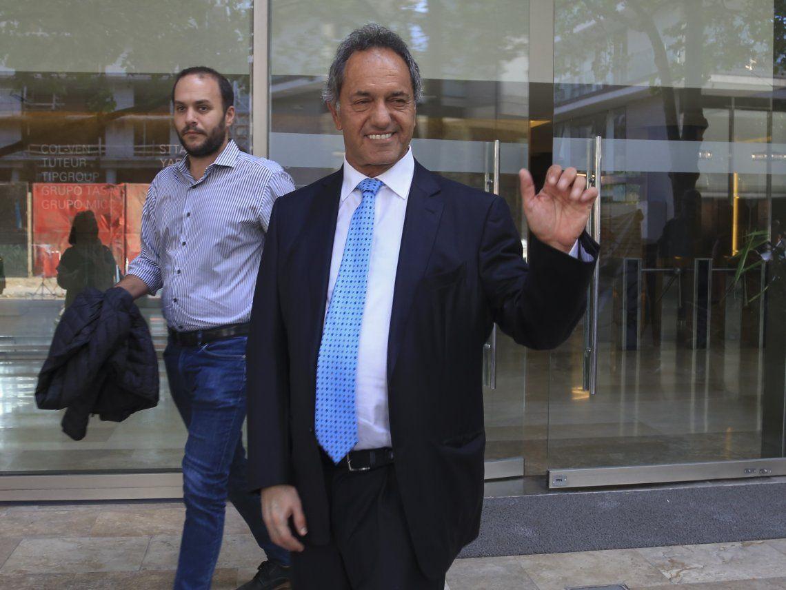 Scioli presentó la renuncia a su banca de diputado nacional