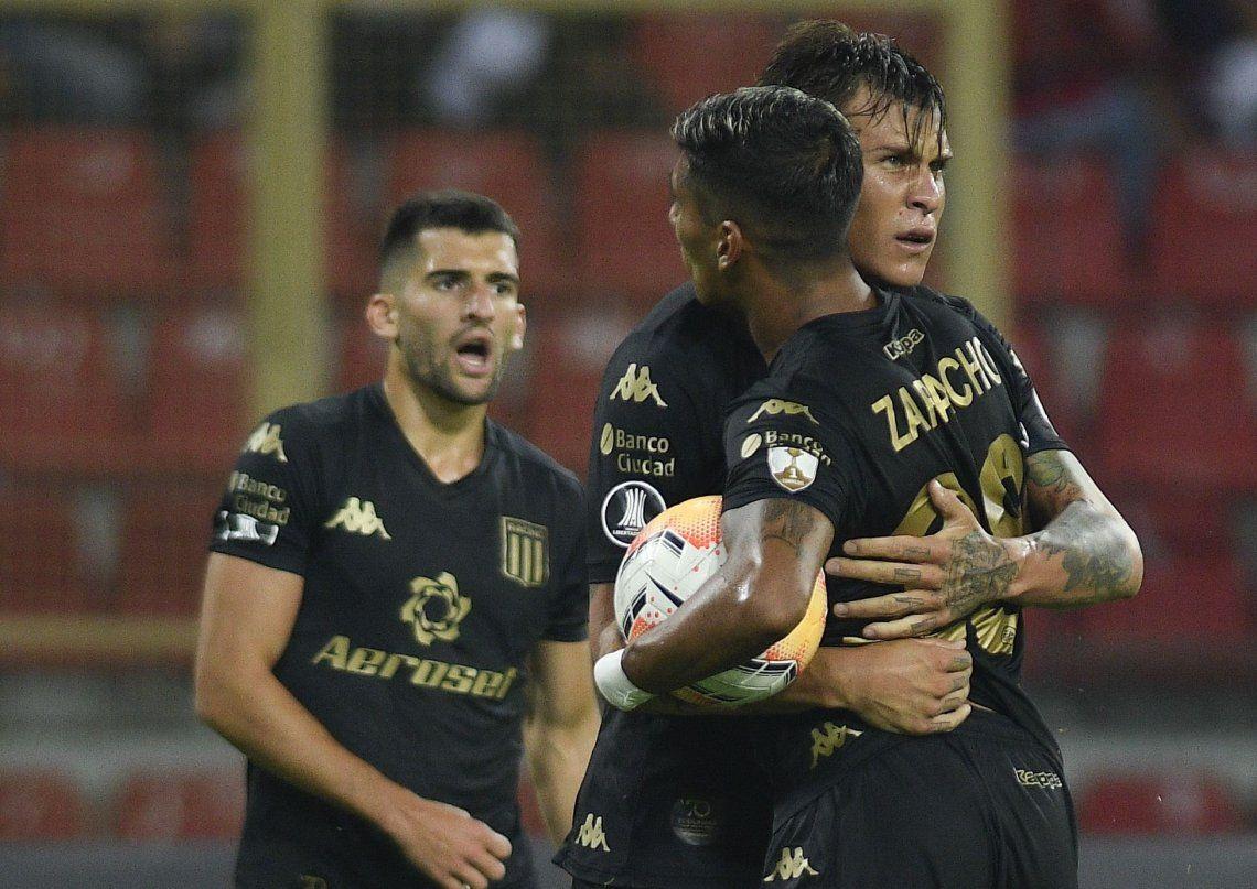 Copa Libertadores: Racing lo dio vuelta, se impuso ante Estudiantes de Mérida en Venezuela y es el primer equipo argentino que suma de a tres