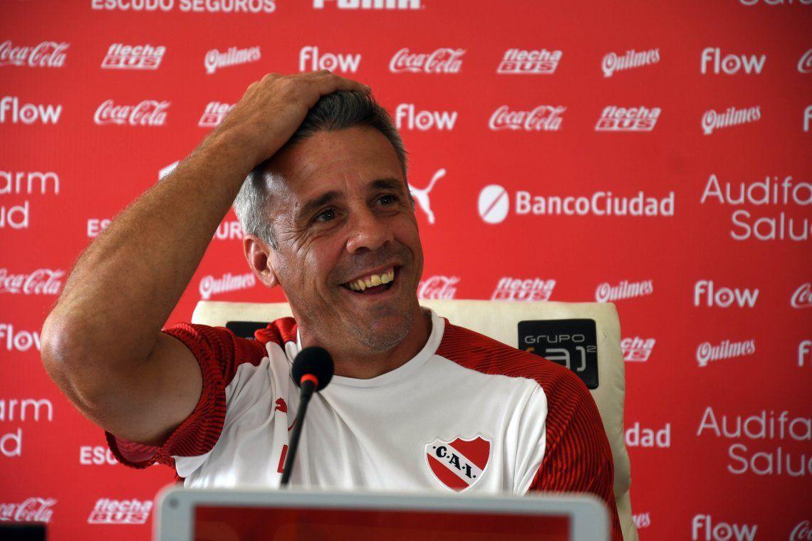 Pusineri reflexionó sobre el presente de Independiente: La institución necesita calma y no la tiene