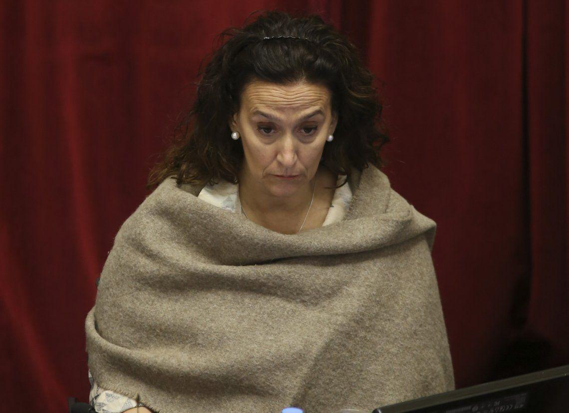 Gabriela Michetti fue denunciada por presunta defraudación pública.