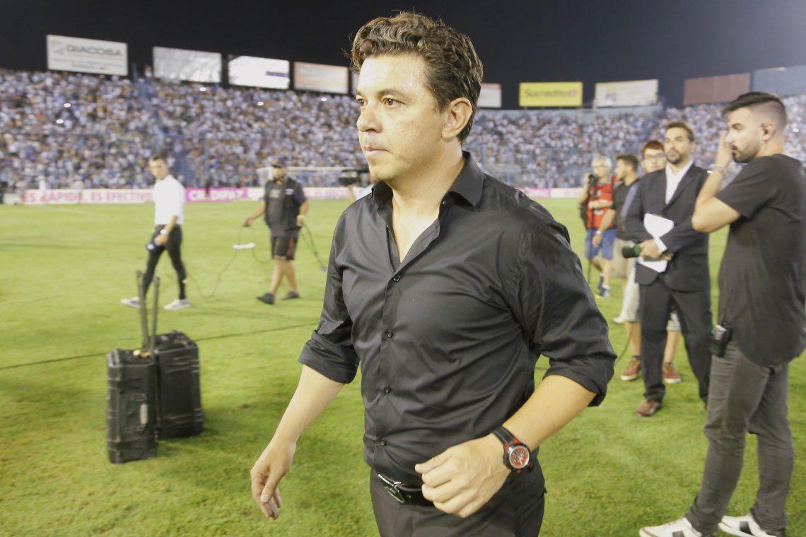 Gallardo felicitó a Boca y cuestionó el arbitraje: Hoy se equivocaron