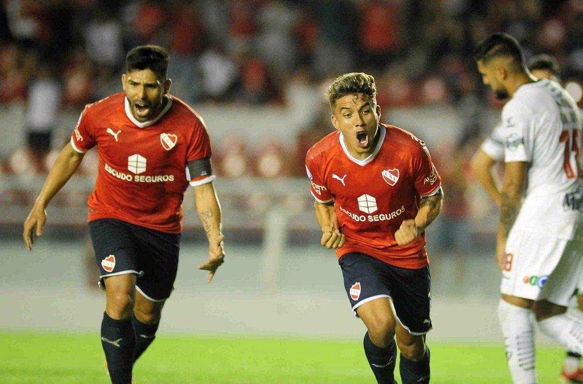 Independiente le ganó a Central Córdoba en el Libertadores de América y cerró la Superliga con una goleada