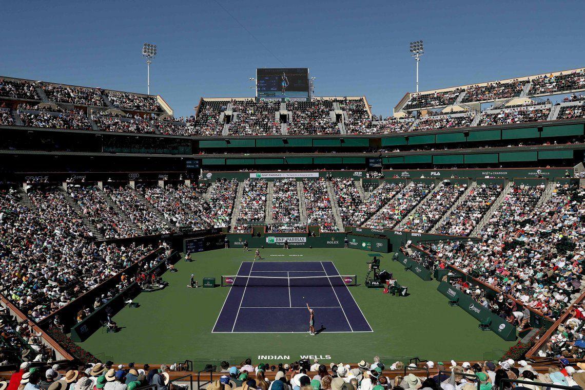 Conmoción en el deporte: suspendieron el Masters 1000 de Indian Wells por el coronavirus y hay calentura entre los jugadores