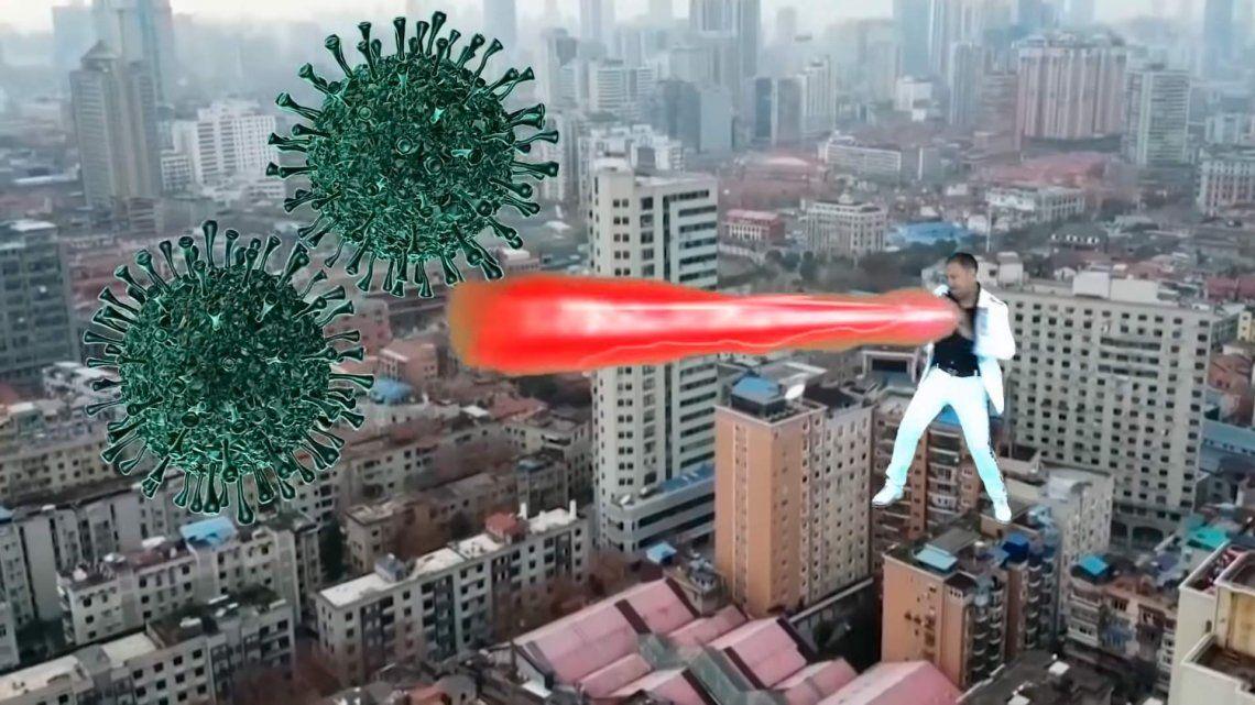 Coronavirus | La pandemia tiene su primera canción con un videoclip desopilante