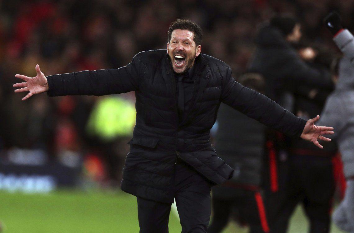Sorpresa en Anfield: Atlético de Madrid sufrió pero venció al Liverpool por 3-2