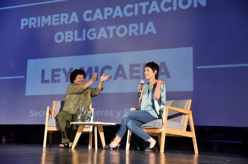 Barrancos y Mendoza resaltaron la importancia de tener una gestión con perspectiva de género.