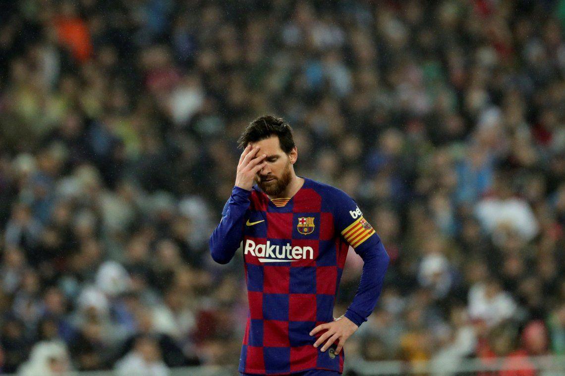 Messi desmintió que deje el Barcelona para ir al Inter