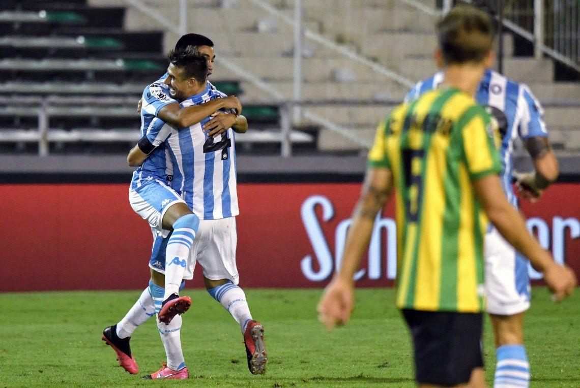 Copa de la Superliga: Aldosivi lo ganaba pero Racing lo dio vuelta en la última y se llevó un triunfazo de Mar del Plata