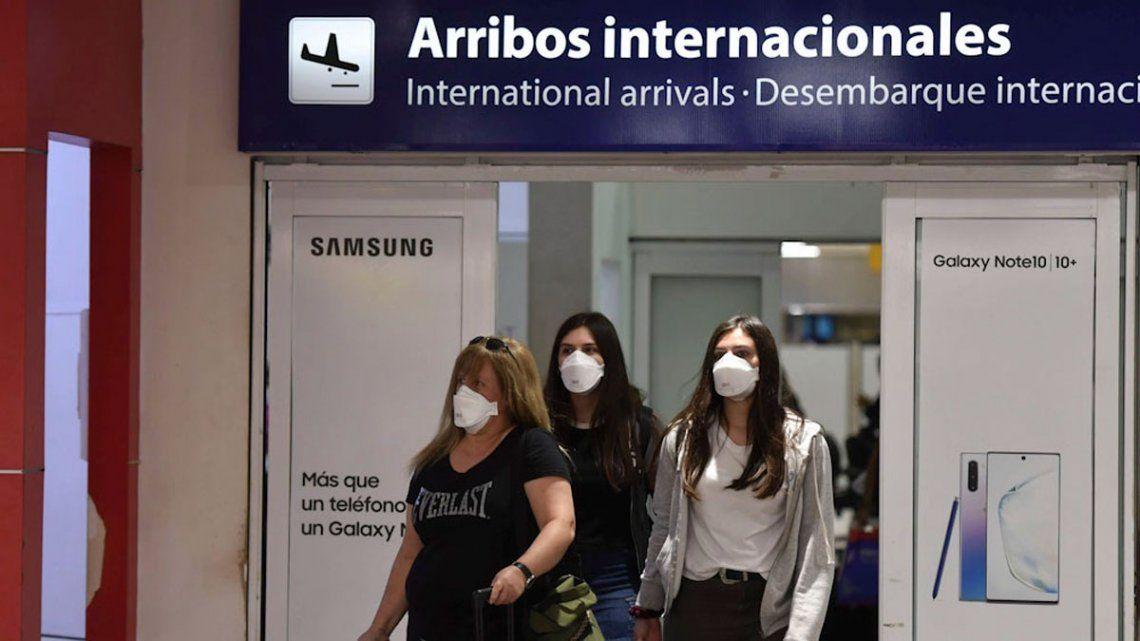 Coronavirus: Argentina sumó a Chile y Brasil como zonas de transmisión sostenida