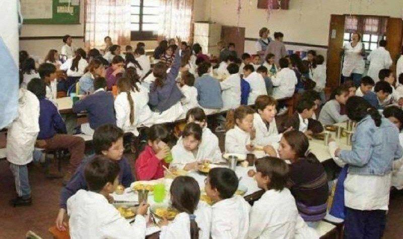 Los comedores escolares permanecerán abiertos estas dos semanas.