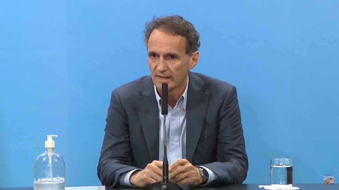 Coronavirus   Gabriel Katopodis anunció la construcción de ocho módulos hospitalarios de emergencia