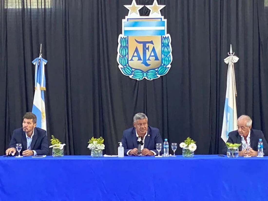 Llegó el día de la reelección para Tapia