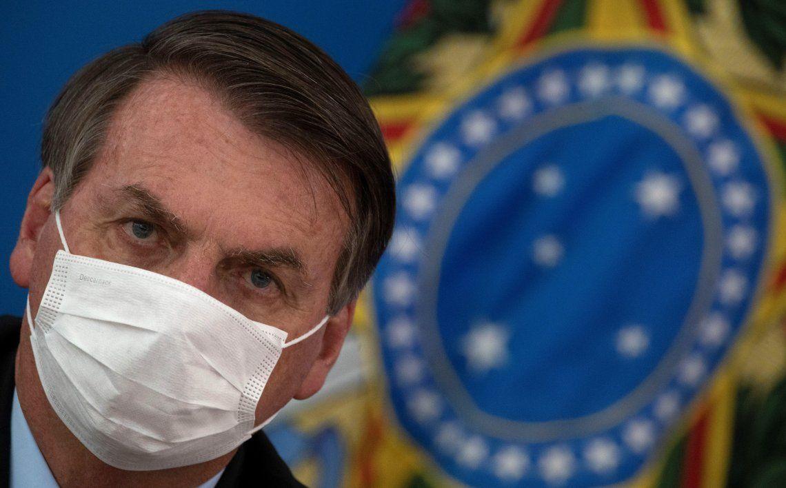 Bolsonaro recibió ocho preguntas referidas al coronavirus.