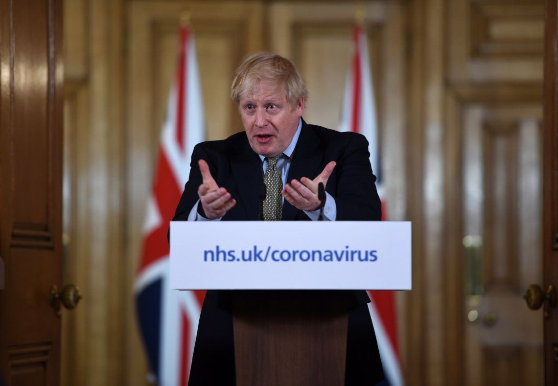 Boris Johnson, primer ministro británico, dio positivo por coronavirus