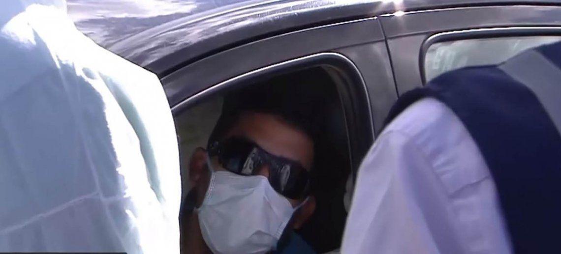 Coronavirus | En la Ruta 2, detuvieron a un conductor que manejaba con 38.5 de fiebre y habría tenido contacto con italianos