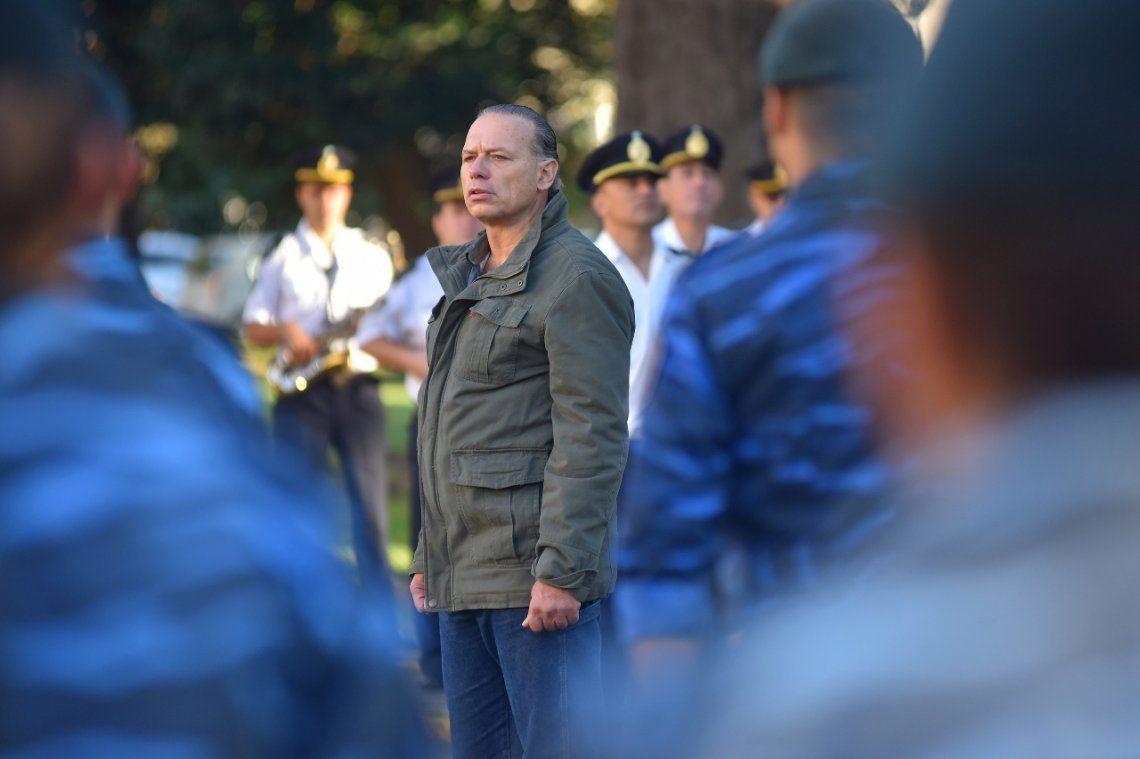 Berni a la Policía: Tenemos la obligación de cuidar a los bonaerenses