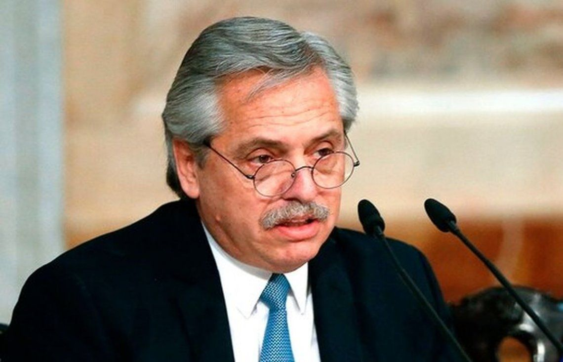 Alberto Fernández sostuvo que hoy no piensa en declarar el estado de sitio