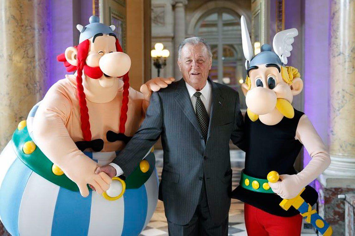 A los 92 años falleció Albert Uderzo, el dibujante de Astérix