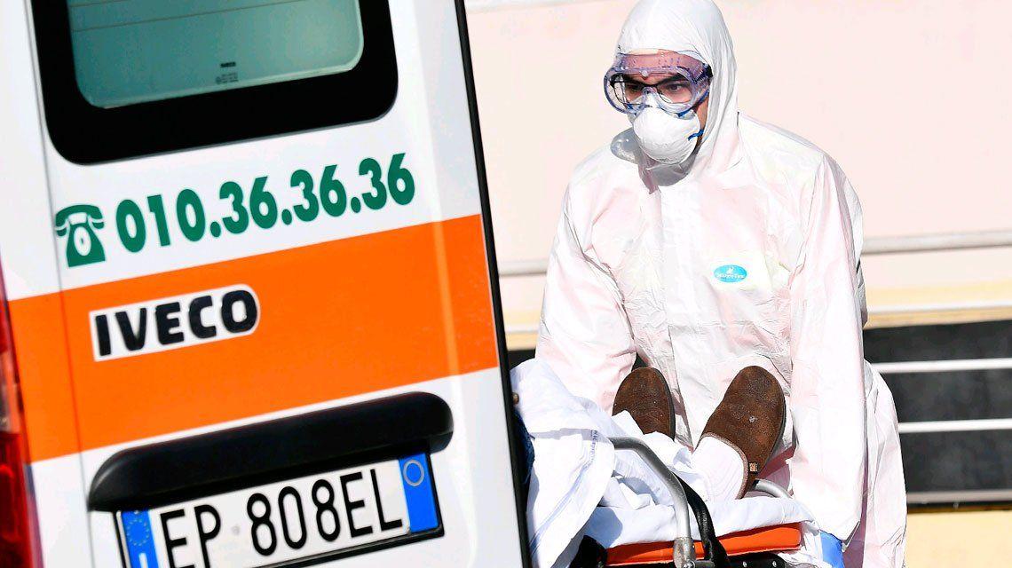 Italia vuelve a registrar un pico de muertos: 743 en un día