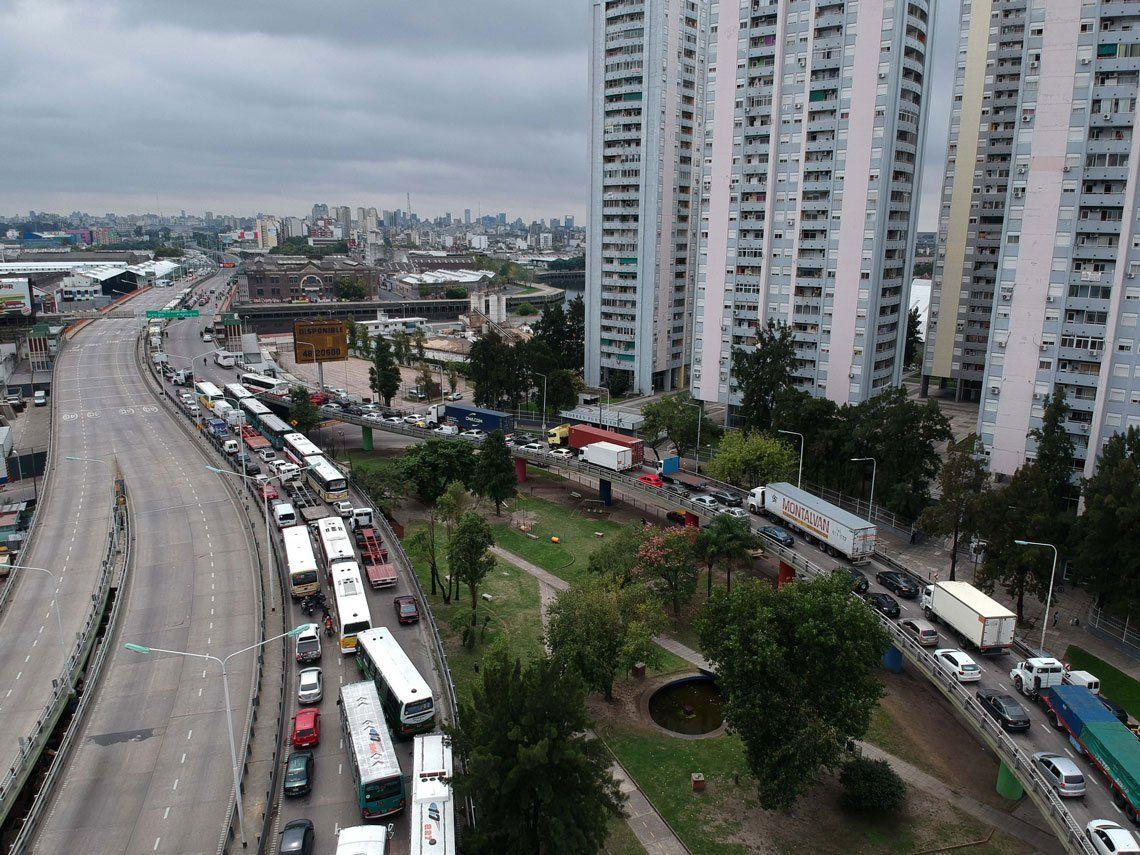 Control vehicular en los accesos a la ciudad