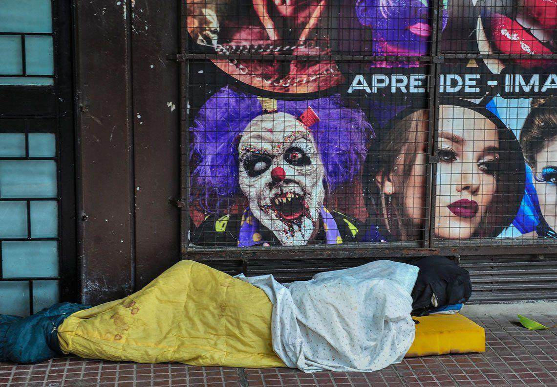 Personas en situación de calle durante la pandemia