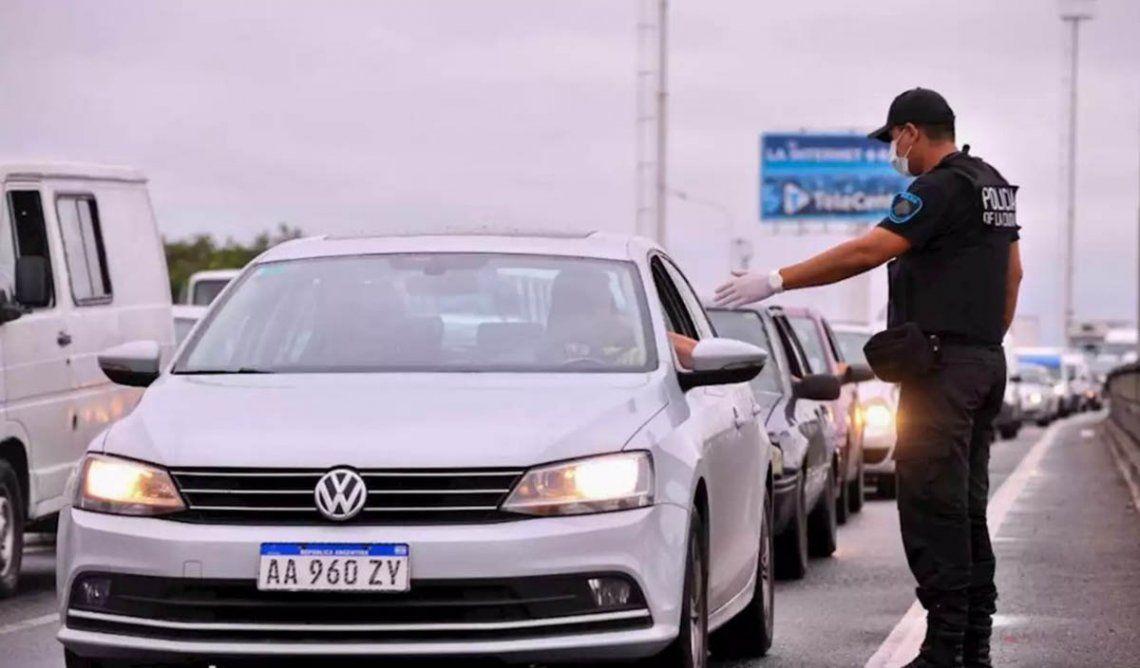 Coronavirus: secuestrarán los autos de quienes circulen sin autorización en Capital Federal