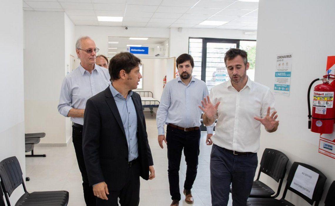 Kicillof recorre el Centro de Diagnóstico Tratado de Pilar