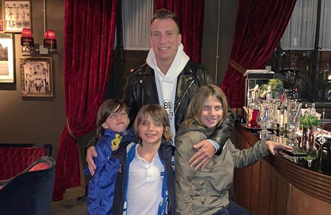 Reclamo de Maxi López a Wanda Nara en medio de la cuarentena: Extraño a mis niños