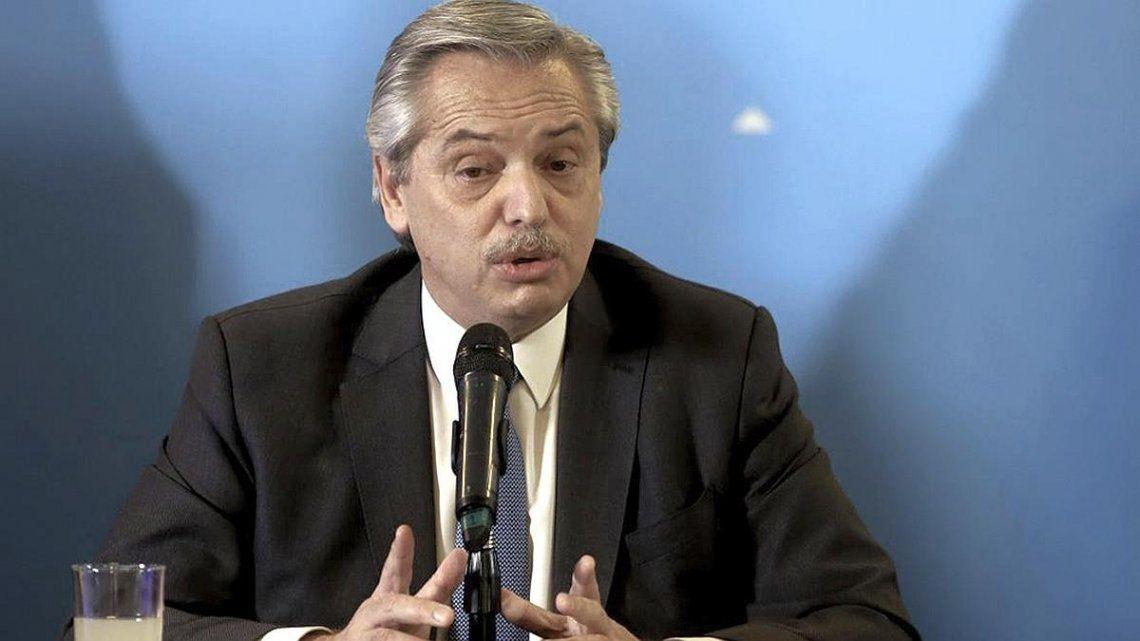 Alberto Fernández tildó de miserables a quienes despiden empleados durante la pandemia