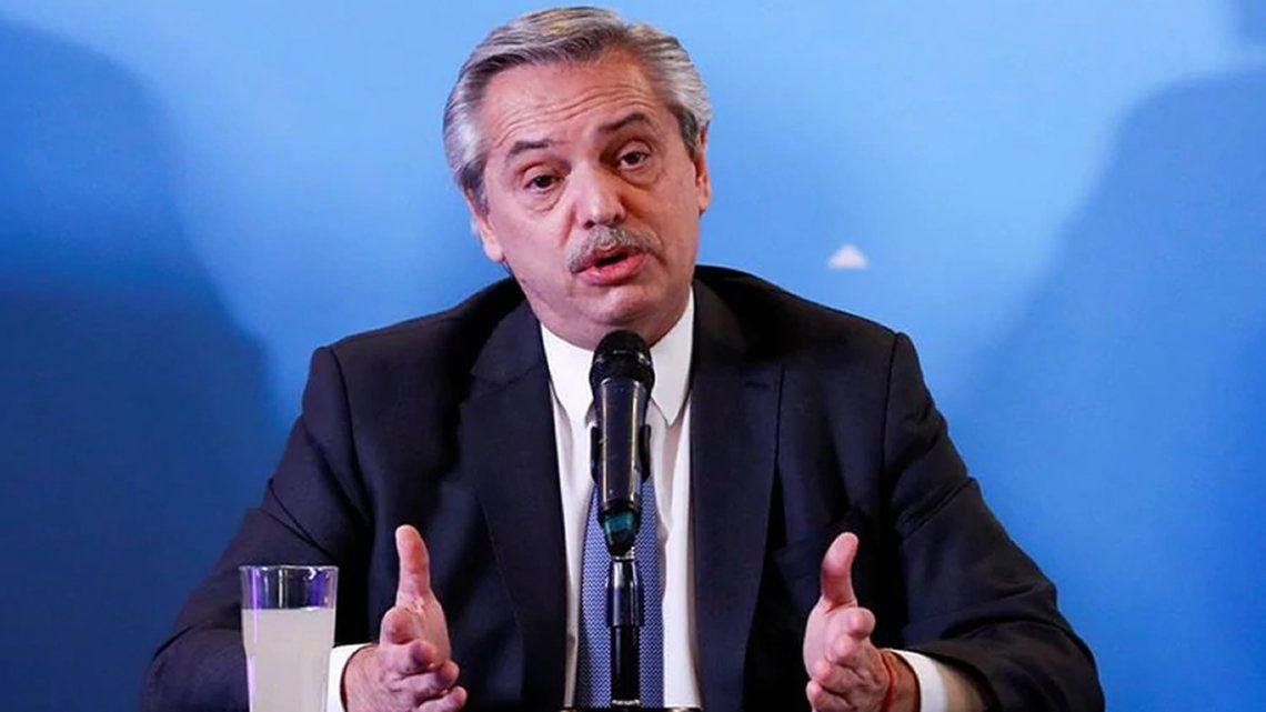 Alberto Fernández: La idea es ir recuperando poco a poco el ritmo económico