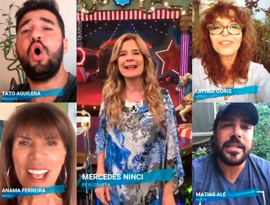 La fascinante versión en español de Imagine de los famosos argentinos