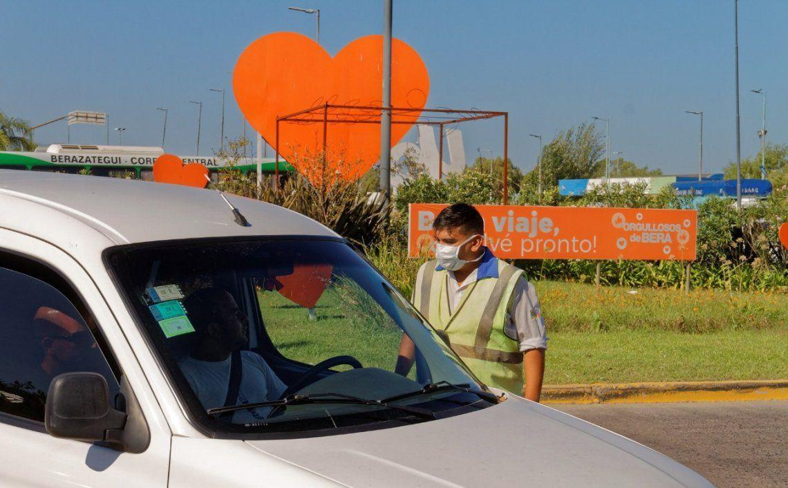 Continúan los procedimientos en las calles de Berazategui.