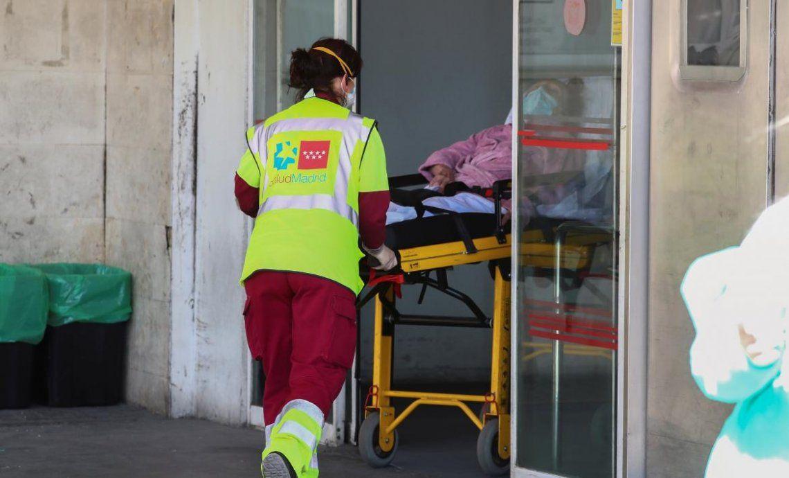 Coronavirus: España registra un nuevo máximo diario de muertos y supera los 100.000 contagios