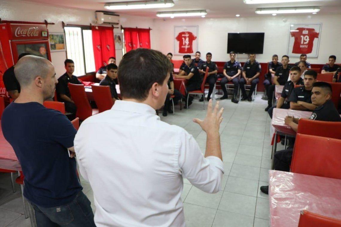 Independiente cederá su pensión a la policía para un operativo por el coronavirus